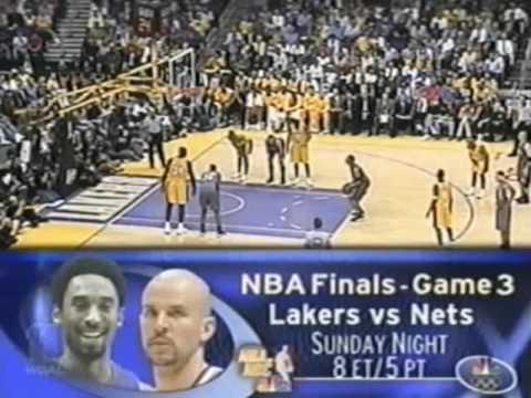 2002 NBA Finals: Nets at Lakers, Gm 2 part 4/12
