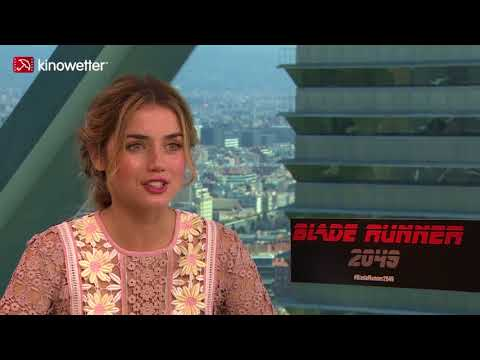 Interview Ana de Armas BLADE RUNNER 2049