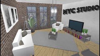 New York Studio Apartment! Roblox - Bloxburg (30k)