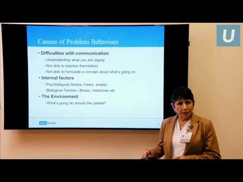 Aggressive Behavior in People with Dementia - Linda Ercoli, PhD | #UCLAMDChat Webinars