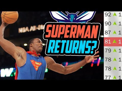 HAS SUPERMAN RETURNED?!? Charlotte Hornets Rebuild! NBA 2K18