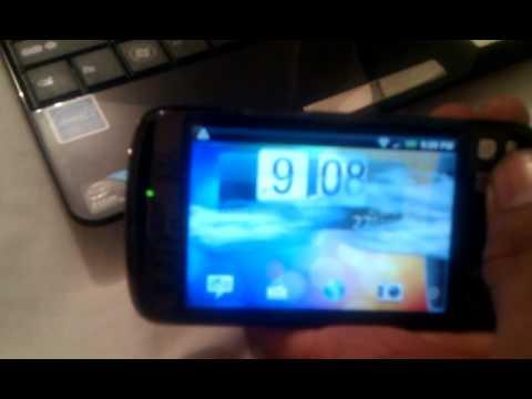 HTC magic running auto rotate ui rom