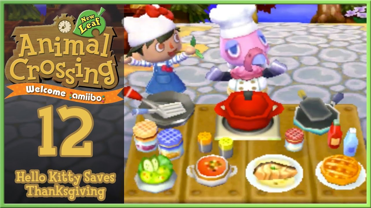 Kitchen Island Acnl animal crossing new leaf - welcome amiibo day 12: hello kitty man