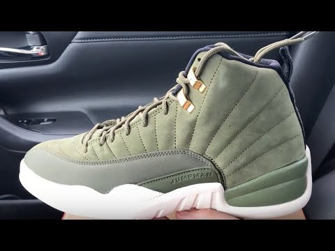 dee9060615e Jordan 12 CP3 Olive Green shoes - YouTube