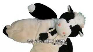 Развивающий мультик. Как говорят животные. Корова