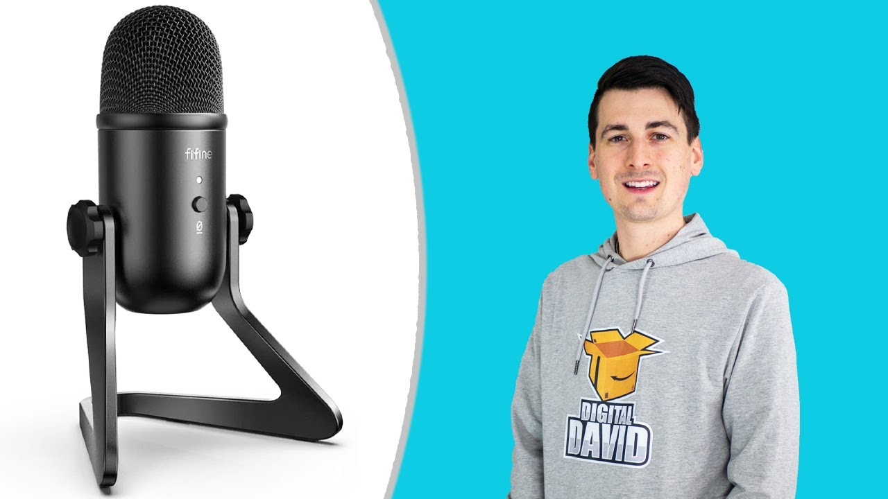 Fifine Usb Microphone K678 Review Podcast Recording Streaming Mic Youtube