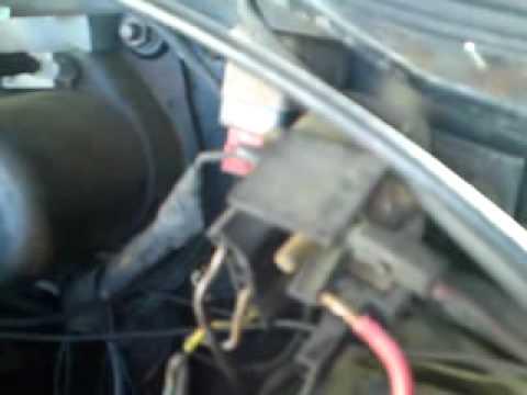 Horn Wiring Diagram For Caravan Battery Charger Mopar Starter Relay Bypass - Youtube