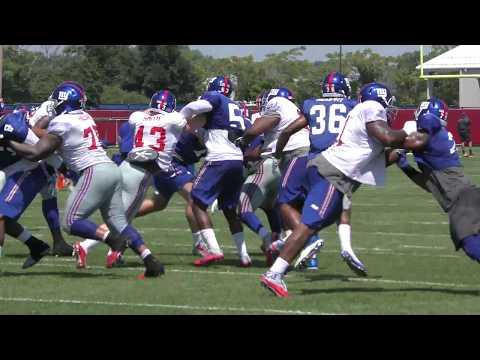 Khalid Abdullah: New York Giants Training Camp Highlights