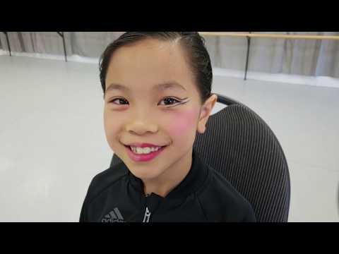 Caulfield School Of Dance Hair And Makeup Tutorial: Junior Female Stage Makeup