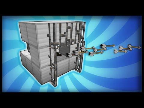Minecraft: How to make working machine guns