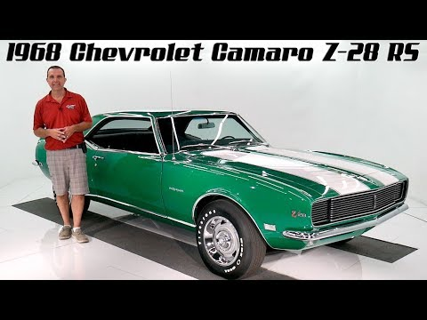 1968 Chevrolet Camaro Z28 RS For Sale At Volo Auto Museum (V18523)