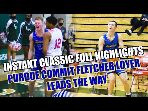 Purdue Commit Fletcher Loyer Leads #2 Homestead Over #1 Lawrence North In Overtime Thriller