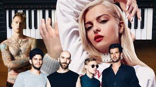 Machine Gun Kelly, X Ambassadors & Bebe Rexha - Home (Piano Cover)