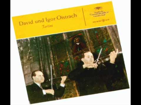 Tartini-Trio  Sonata in F Major for 2 Violins and Harpsichord (Complete)