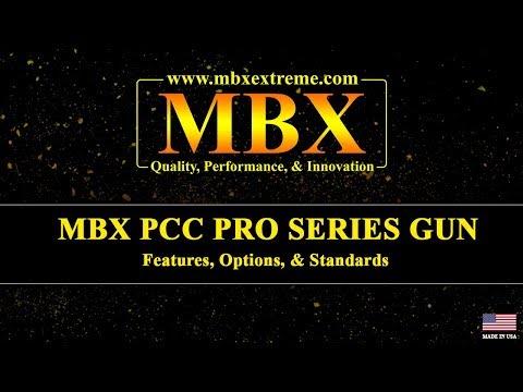 MBX PCC PRO SERIES GUN - Features, Options, & Standards