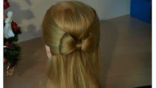 Fiocco con i capelli | Acconciatura per le Feste
