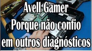 Getechinf #Lab227 - Avell Gamer - Diagnóstico errado - Reparo Placa de Vídeo
