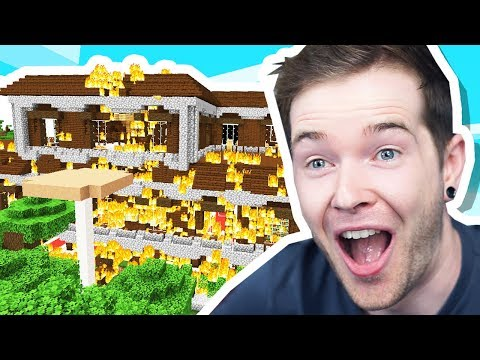 I BURNED DOWN a Woodland Mansion in Minecraft Hardcore! from YouTube · Duration:  34 minutes 17 seconds