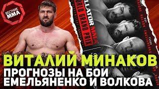 Виталий Минаков - Прогноз на Волкова и Емельяненко