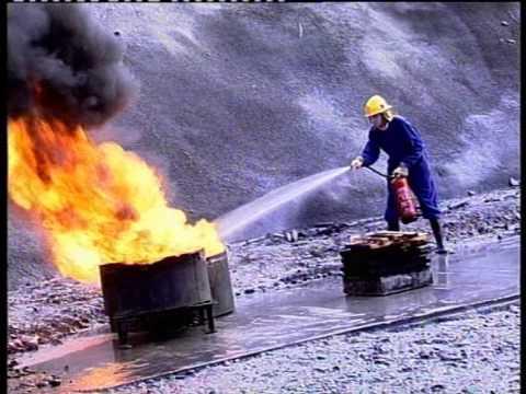 Uso de extintores portátiles