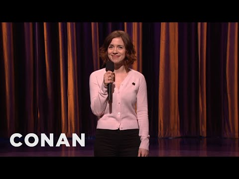 Alice Wetterlund Stand-Up 11/28/16 - CONAN on TBS - YouTube