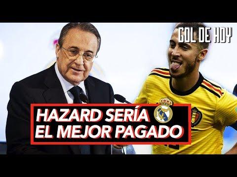 Fichajes: Real Madrid presenta la gran promesa I Hazard sería el mejor pagado del Madrid thumbnail