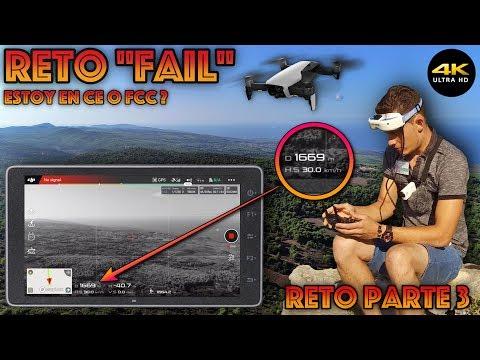 """Reto Fail, CE O FCC?? (Parte 3) """"Mavic Air"""" 4K/DronePilot"""
