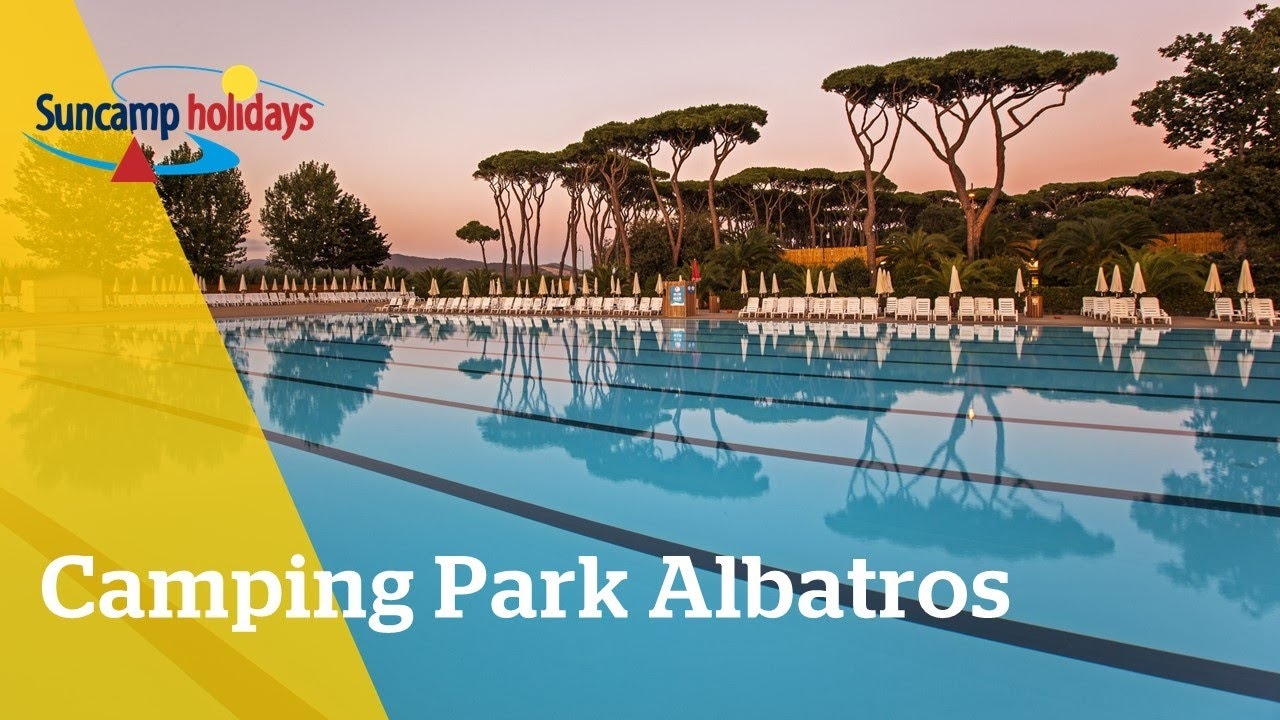 Camping Toscaanse Kust Zwembad 360 Video Zwembad Op Camping Park Albatros Suncamp Holidays