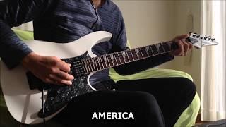 浜田省吾 の AMERIKA をギターコピーしました。
