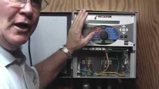 Installing a LAN200 to a Netafim Landscape Controller