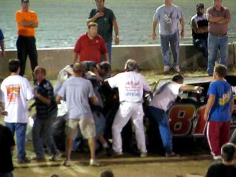 Fight! Belle-Clair Speedway 8-6-10