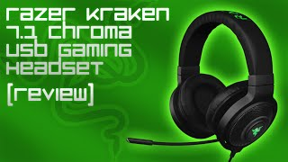 Razer Kraken 7.1 Chroma USB Gaming Headset [Review, Mic Test & LED