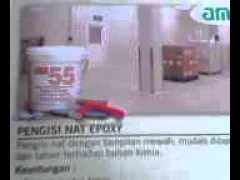 AM 55 Pengisi Nat Keramik Epoxy