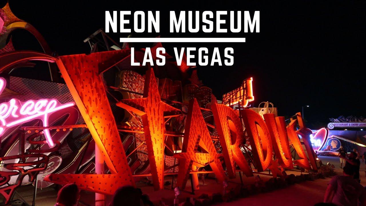 how to get to neon museum las vegas