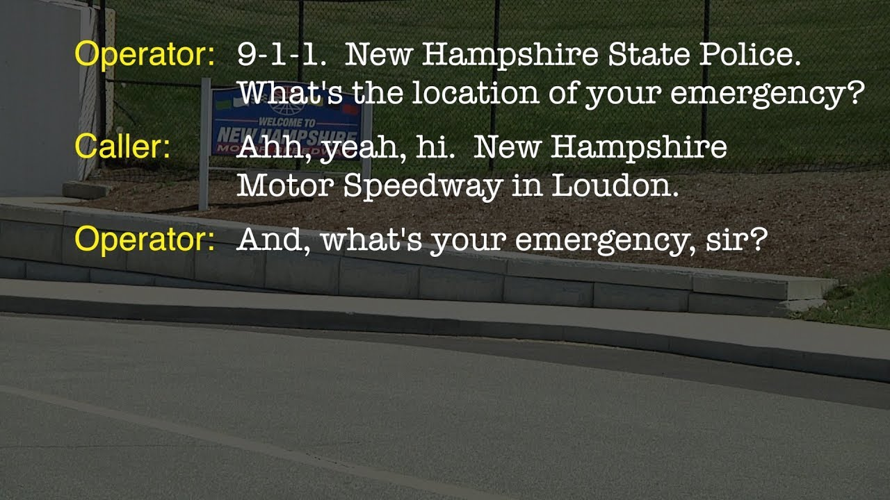 911 Call To Nh State Police From Nhms