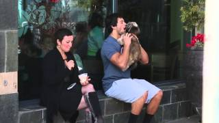 Dude Makes Out With Dog