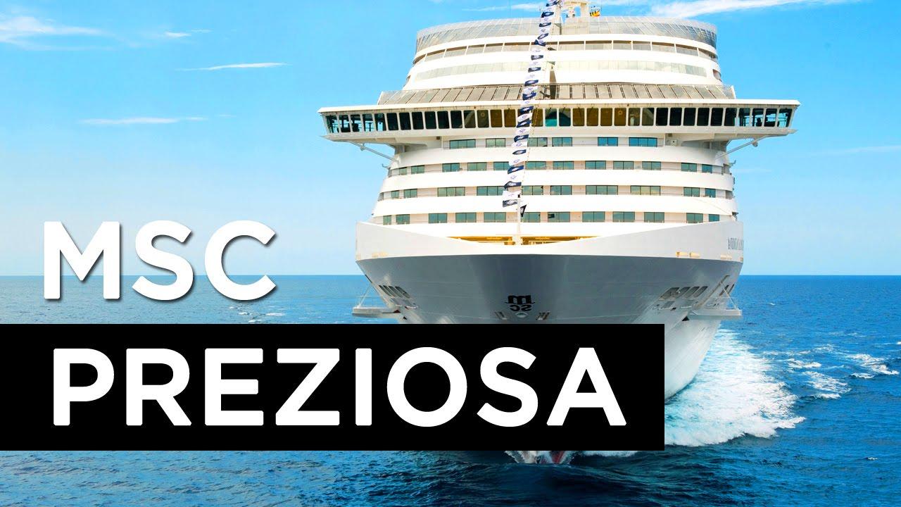 Navio MSC PREZIOSA - Msc Cruzeiros - YouTube b69eee104ac96