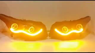 Тюнинг фар Infiniti fx - глазки, ДХО, бегущие поворотники, задние led фонари