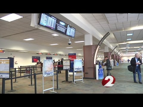 Airport travel declining at Dayton International