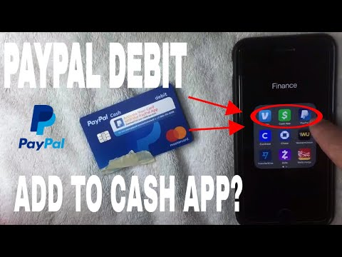 ✅  Can You Add Paypal Cash Debit Mastercard To Cash App?  🔴