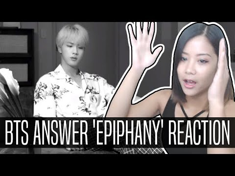 BTS 'Epiphany' REACTION/ANALYSIS | LOVE YOURSELF 結 Answer