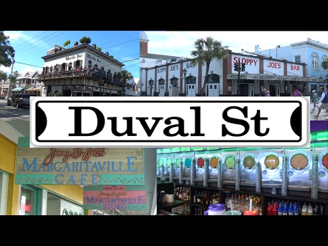 Guide To Drinking In Key West (The Duval Crawl) 2017