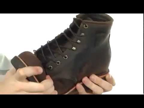 chippewa gq apache lacer boot youtube