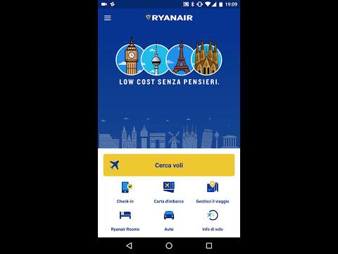 Ryanair: check in tramite APP