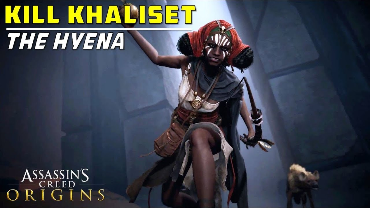 Kill Khaliset The Hyena Assassin S Creed Origins Youtube