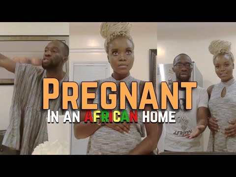 In An African Home: Pregnant