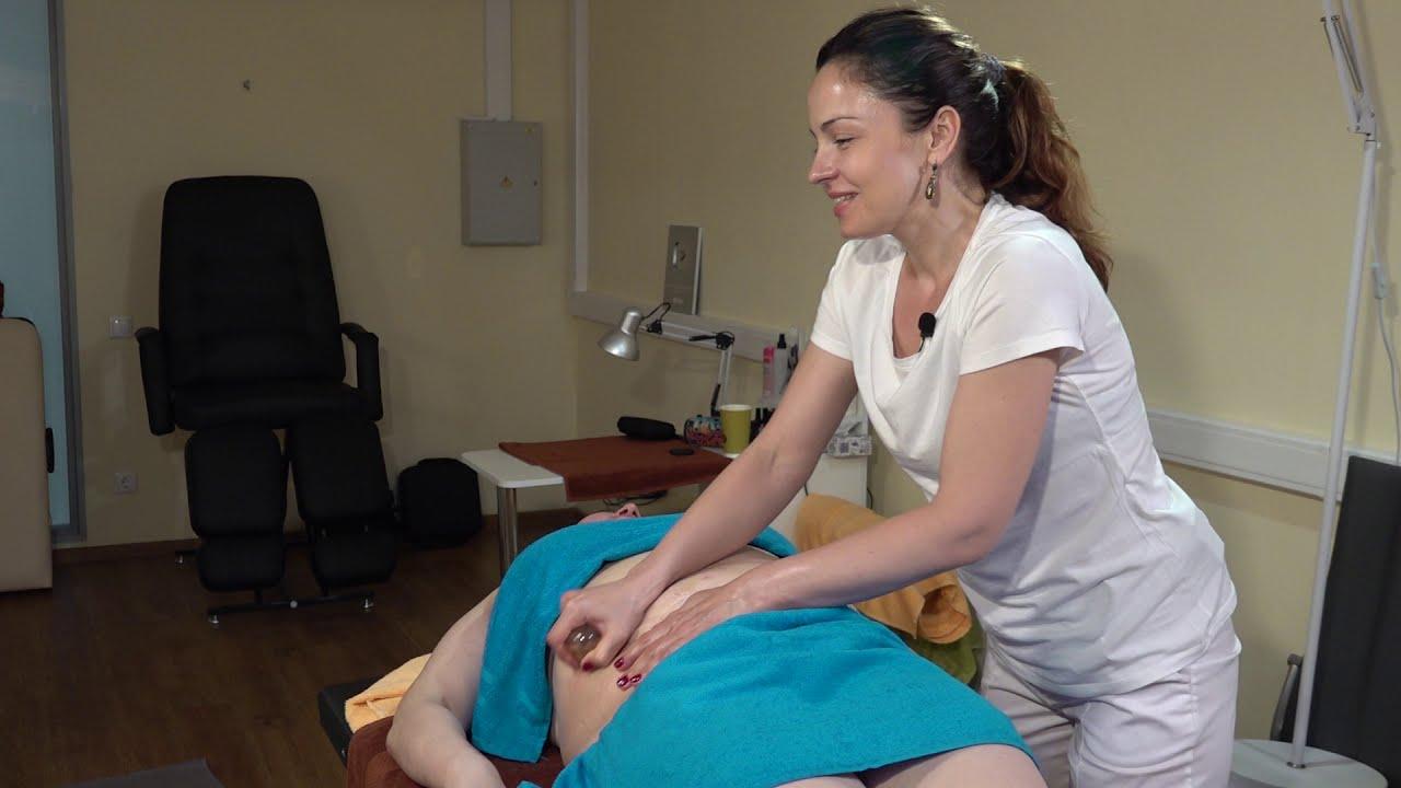 Моделирующий антицеллюлитный массаж живота