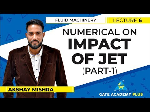 Fluid Machinery I Numerical on Impact of Jet I Part 1 Lecture 6