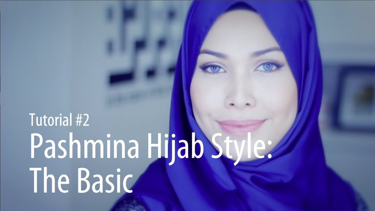 Adlina Anis Hijab Tutorial 2 The Basic Pashmina YouTube