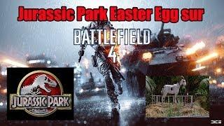Un Easter Egg de Jurassic Park sur BF4 !